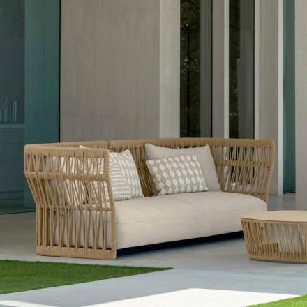 Cliff nowoczesna sofa ogrodowa Talenti, autorstwa Ludovica i Roberto Palomba