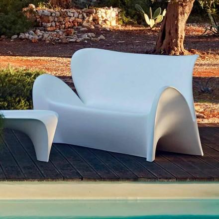Zewnętrzna lub wewnętrzna sofa do salonu w kolorze plastiku - Lily od Myyour