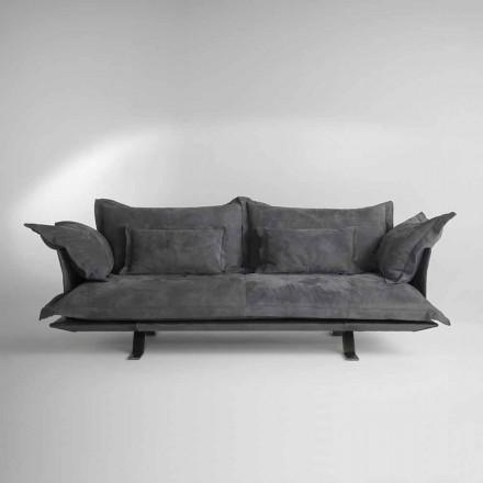 Sofa skórzana Shita 170/220 lub 250 cm, nowoczesny design
