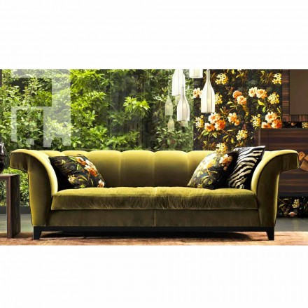 Sofa 3 osobowa tapicerowana design Grilli Shell made in Italy
