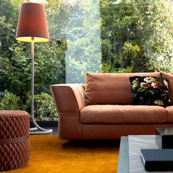 3 osobowa sofa tapicerowana z tkaniny Grilli Joe wykonana we Włoszech