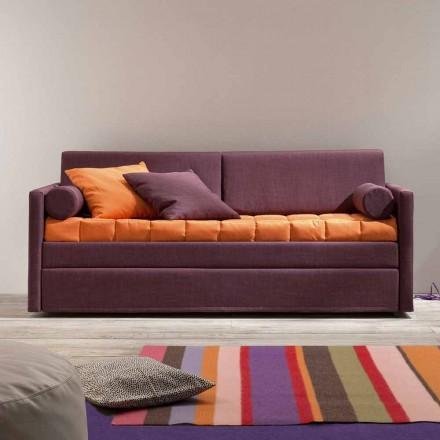 Zaprojektuj sofę z łóżkiem piętrowym obitą tkaniną Made in Italy - Gretel