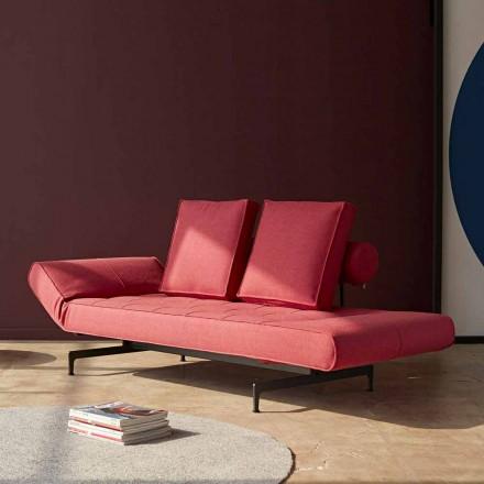 Sofa rozkładana Ghia by Innovation z miękkiej tkaniny