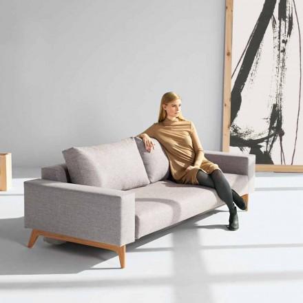 Sofa rozkładana szara Idun, design od Innovation
