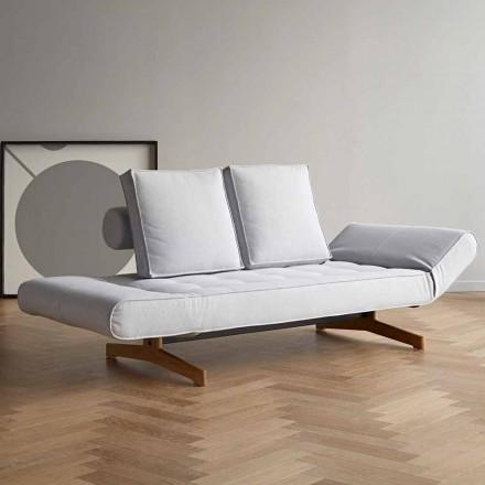 Tapicerowana sofa rozkładana z tkaniny Ghia by Innovation