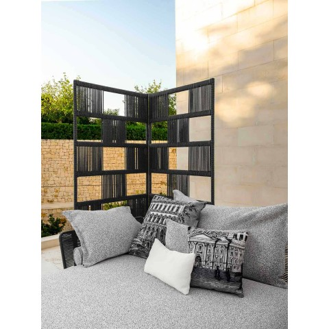 Centralna modułowa dwumiejscowa sofa ogrodowa - Cruise Alu firmy Talenti