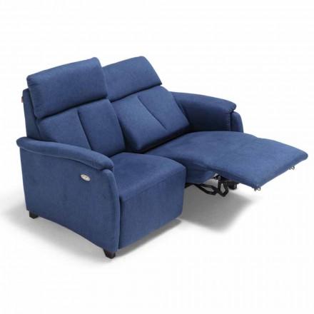 Sofa 2 osobowa z 1 siedziskiem elektrycznym Gelso, made in Italy