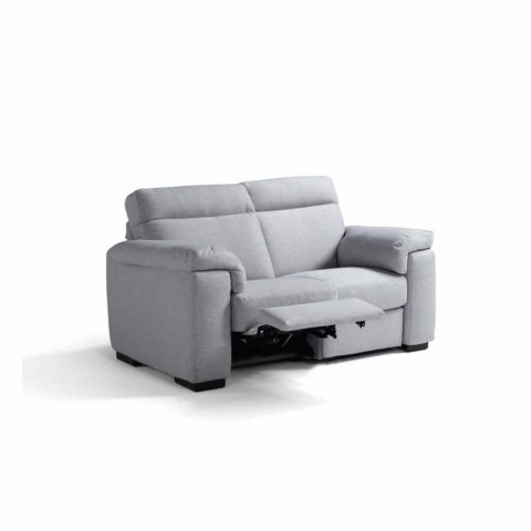 Sofa relaks elektryczny 2 miejsca, 2 Lilia krzesła elektryczne, wykonane we Włoszech