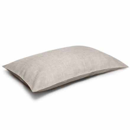 Poszewka na poduszkę z czystego naturalnego lnu Made in Italy - Blessy