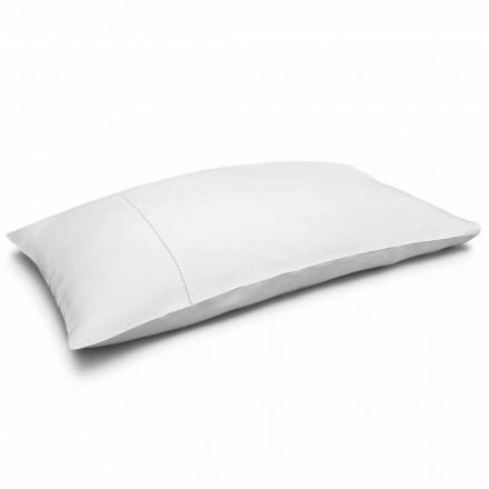 Kremowa poszewka na poduszkę z czystego lnu Made in Italy - Chiana