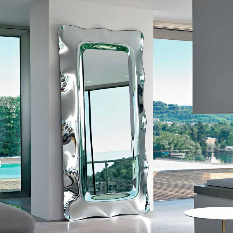 Fiam Italia Dorian lustro podłoga / ściana 202x105cm wykonana we Włoszech