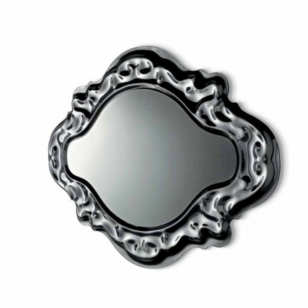 Fiam Veblèn Nowe, barokowe, nowoczesne lustro ścienne wykonane we Włoszech