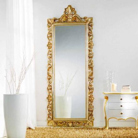 Duże lustro klasyczne model Tiara 86x220 cm