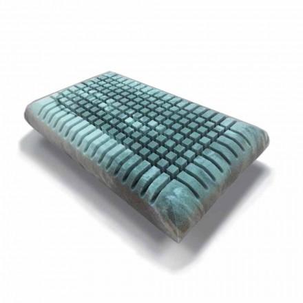 Ergonomiczna poduszka Memory Xform o wysokości 12 cm Made in Italy - Clementino