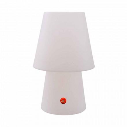 Akumulatorowa lampa LED z polietylenu do użytku wewnętrznego lub zewnętrznego - Fungostar