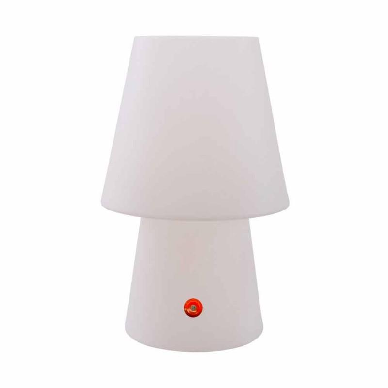 Akumulatorowa lampa LED z kolorowego tworzywa sztucznego do użytku wewnątrz lub na zewnątrz - Fungostar