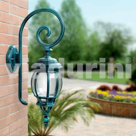 Odlewana na zewnątrz lampa ścienna wykonana z odlewanego ciśnieniowo aluminium, Anika