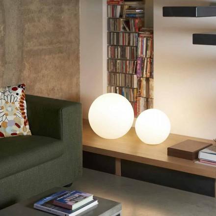 Lampa okrągła stołowa/ziemna Slide Globo, made in Italy