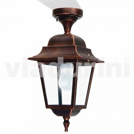 Zewnętrzna lampa sufitowa wykonana z aluminium, wyprodukowana we Włoszech, Aquilina