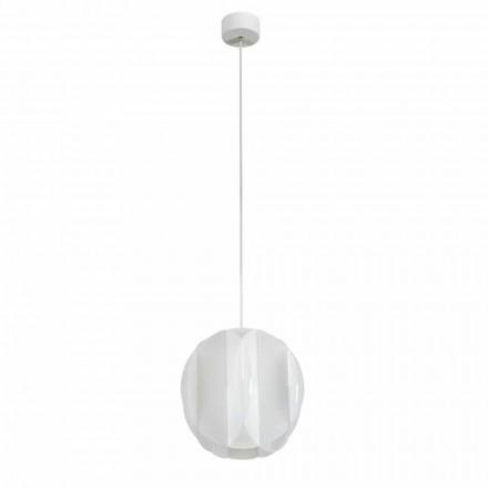 Lampa wisząca z metakrylanu o średnicy 22 cm Derise