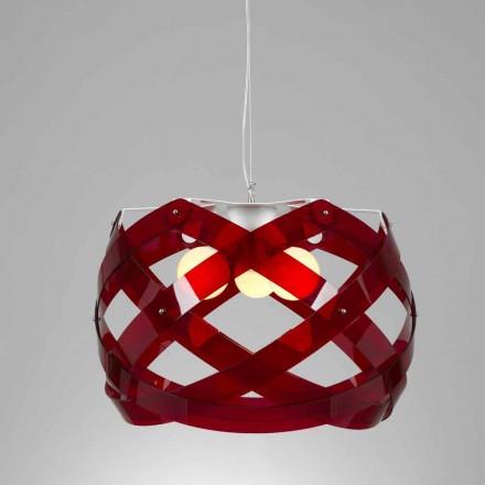 Lampa wisząca  z metakrylanu o średnicy 67 cm Vanna