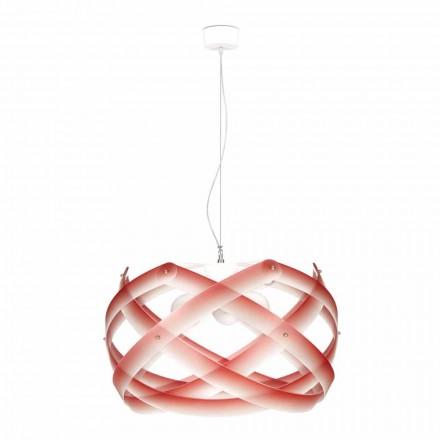 Lampa wisząca z metakrylanu design  o średnicy 67 cm Vanna