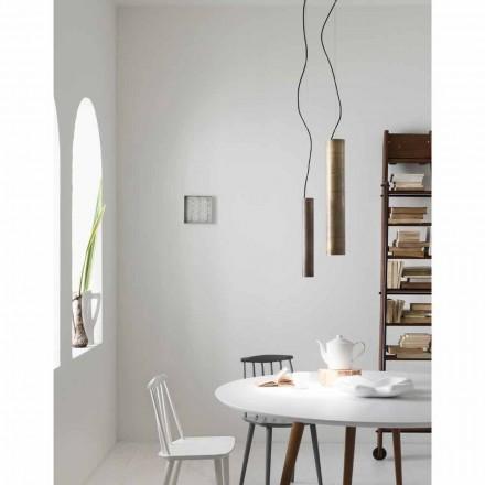 Lampa wisząca cylindryczna  Ø4 Girasoli Il Fanale