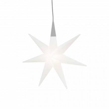 Wewnętrzna lampa wisząca Led nowoczesny design, gwiazda - Pandistar