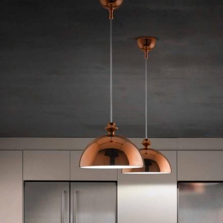 Lampa wisząca design z ceramiki I Lustri 8