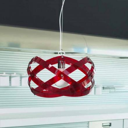 Lampa wisząca design  z metakrylanu o średnicy 53 cm Vanna