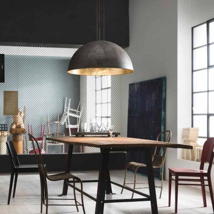 Lampa wisząca design rustykalny Ø40 cm Galileo Il Fanale