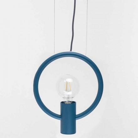 Designerska lampa wisząca ze stali Made in Italy - Delizia