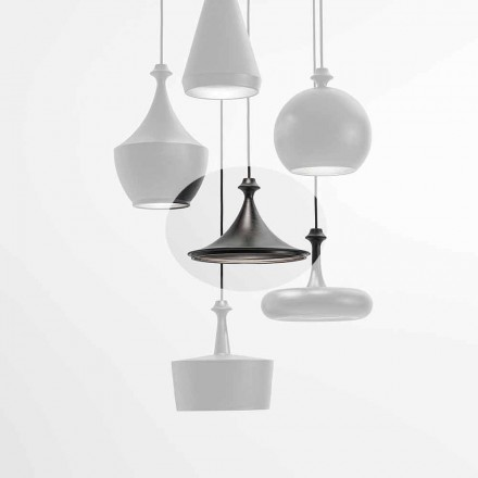 Ceramiczna lampa wisząca LED - Lustrini L1 Aldo Bernardi