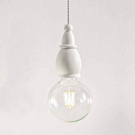 Odrapana lampa ceramiczna Made in Italy - Fate autorstwa Aldo Bernardi