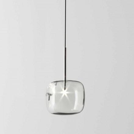 Zaprojektuj lampę wiszącą z metalu i szkła Made in Italy - Donatina