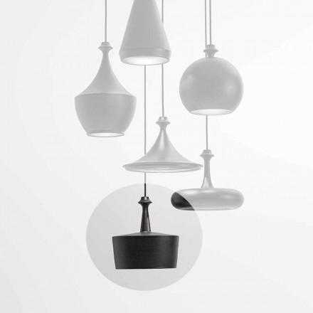 Ceramiczna lampa wisząca LED - L6 Glitter Aldo Bernardi