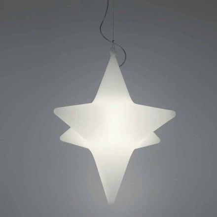Wewnętrzna lampa wisząca LED w kształcie gwiazdy Design by Slide - Sirio