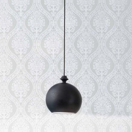 Lampa wisząca z ceramiki I Lustri 4 podsufitka 2 wyjściowa 90°