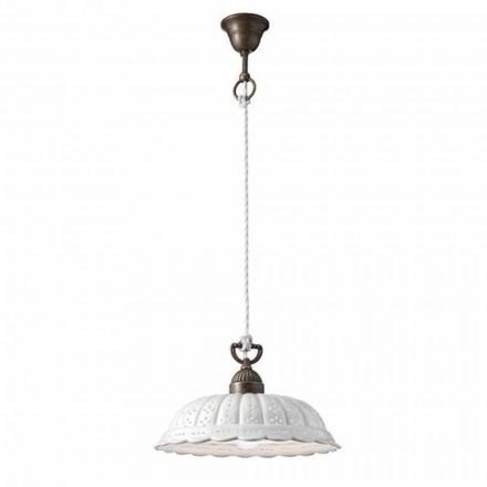 Lampa wisząca z ceramiki Ø32 Anita by Il Fanale