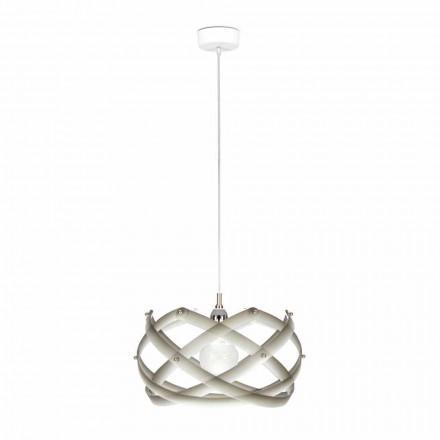 Lampa wisząca z metakrylanu z dekoracją średnica 40 cm Vanna