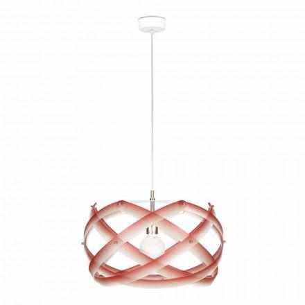 Lampa wisząca  z metakrylanu z dekoracją o średnicy 53 cm Vanna