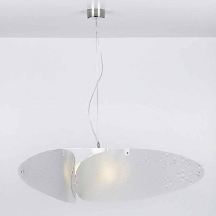 Lampa wisząca z metakrylanu o średnicy 116 cm Taire