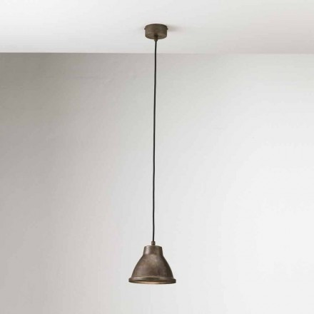 Lampa wisząca z żelaza Loft Mini od Il Fanale