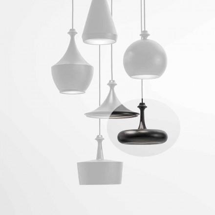 Lampa wisząca LED Made in Italy w ceramice - cekiny L4 Aldo Bernardi