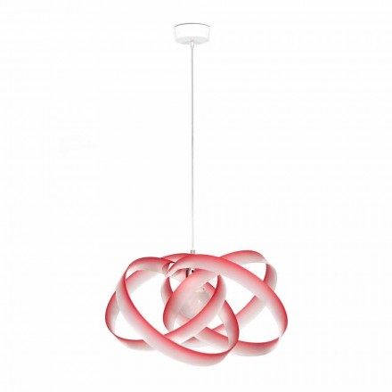Lampa wisząca z metakrylanu, średnica 56 cm, Ferdi made in Italy