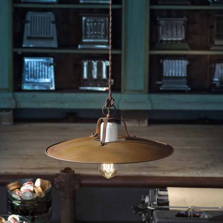 Lampa wisząca styl industrialny Ferroluce
