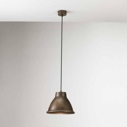 Lampa wisząca z żelaza mała Loft od Il Fanale