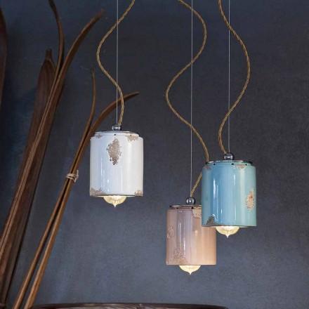 Lampa wisząca wykonana ręcznie Ferroluce