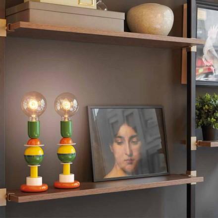 Lampa stołowa design Slide Otello Mini kolorowa