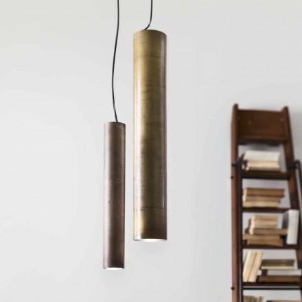 Lampa wisząca cylindryczna  Ø8 Girasoli Il Fanale